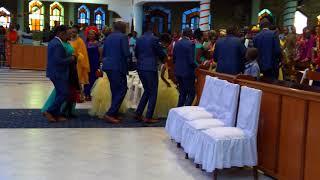 Angalia Ishara   Church Wedding Exit