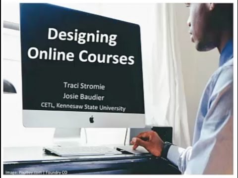 Designing Online Courses