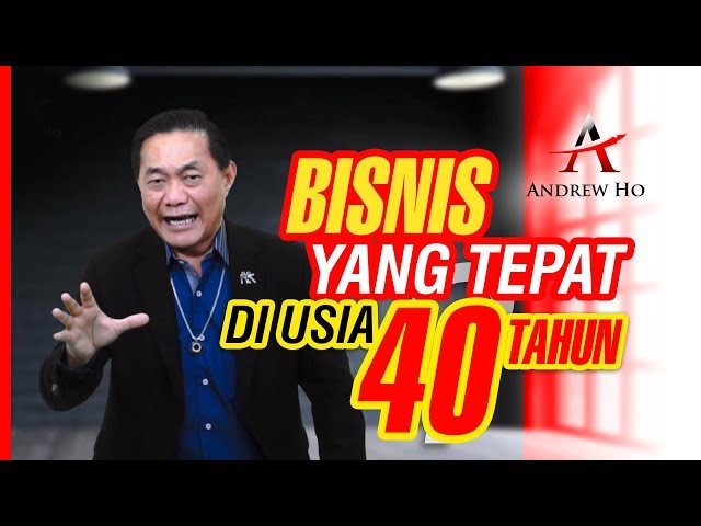 Bisnis Yang Tepat untuk Usia 40 Tahun