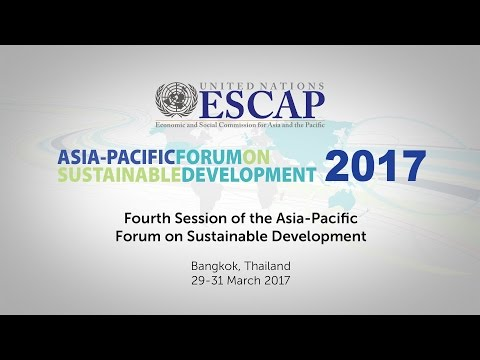 APFSD4: Opening of Session and Regional Perspectives
