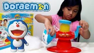 Jessica Membuat Gantungan Kunci DORAEMON 💖 DIY BOLEBO DOLL 💖 Mainan Anak Let's Play