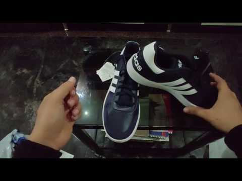 Adidas Hoops 2.0 Basketball Shoes For Men   Unboxing & Review
