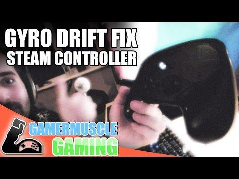 How To Fix Steam Controller Drift - Steam Controller Gyro Re-calibration !