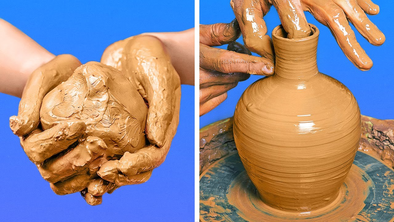 Mesmerizing And Satisfying Clay Pottery