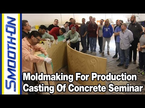 Making Molds For Casting Concrete: Learn about GFRC, Pre-Cast, Ornamental & More