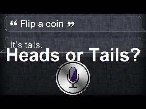 Siri Can Flip A Coin