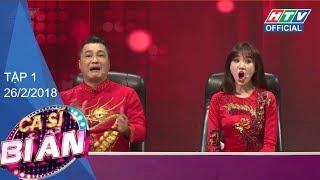 """HTV CA SĨ BÍ ẨN   MÙA 2   Lý Hùng - Hari Won """"xông đất"""" số phát sóng đầu năm  CSBA #1 FULL"""