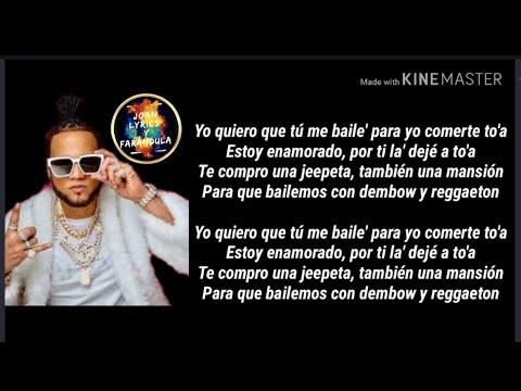 Dembow Y Reggaeton Letras - El Alfa ❌ Yandel ❌Myke Towers (Videl Lyrics) Letra