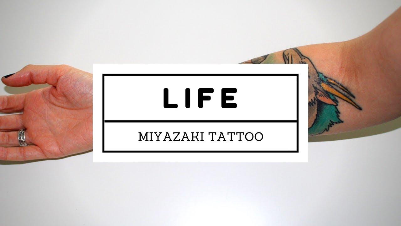 67d153205888d Half-Sleeve Miyazaki Tattoo Reveal | Life Is My Movie - YouTube