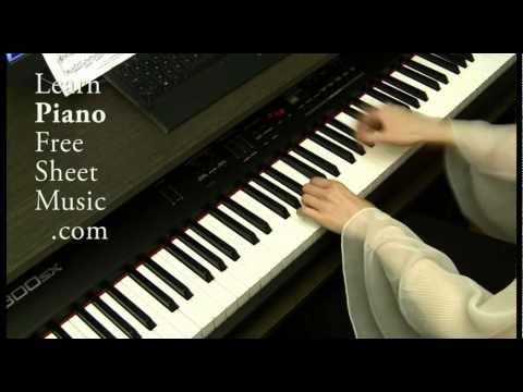 PACHELBEL Canon very beautiful Piano Version