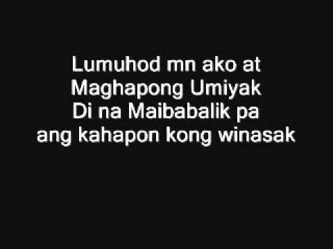 Lumuhod man ako By  Zaito Lyrics