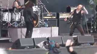 Black Star Riders - The Boys Are Back in Town - Download Festival 2015