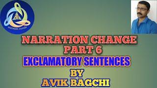 Narration Change Part 6 EXCLAMATORY SENTENCES