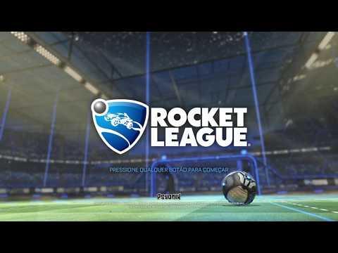 Primeira gameplay de Rocket League no canal!!!!!!