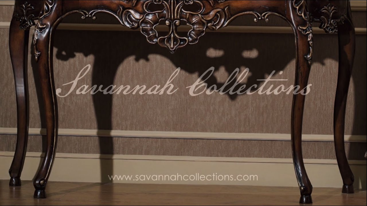 Victorian furniture console table by savannah collections victorian furniture console table by savannah collections henredon geotapseo Images