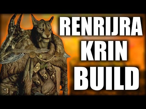 Skyrim SE Builds - The Insurgent - Renrijra Krin Modded Build