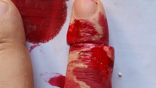 Special Effects Original Sliced Finger Makeup