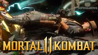 "The Most Disrespectful Brutality In MK11 - Mortal Kombat 11: ""Erron Black"" Gameplay"