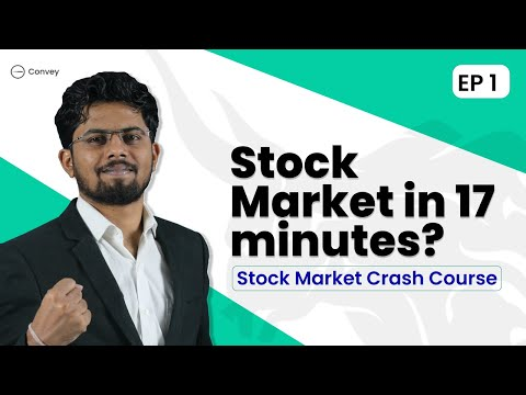 Stock Market Crash Course | From Beginner To Expert | EP 01 | Explained In Hindi | Best course