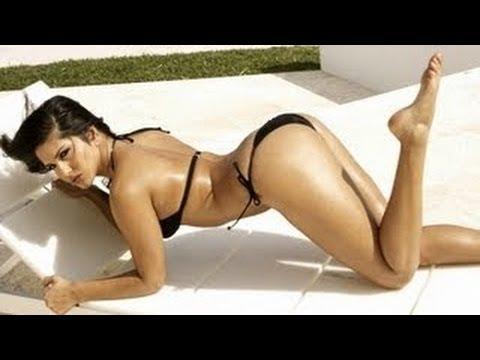 Sunny Leone Hot Bikini Workout