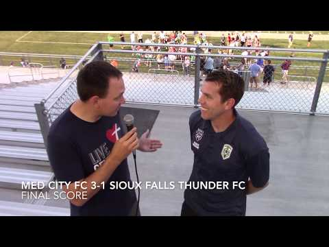 Post Game Interview - Med City FC vs Sioux Falls Thunder FC