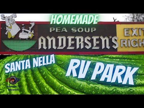 Leaving Bakersfield....Santa Nella.... I-5....Anderson's Split Pea Soup...RVerTV