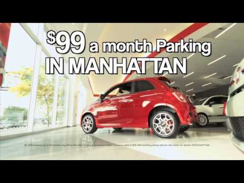 fiat of manhattan -- $99 parking & lease special -- new york city