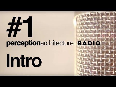 #1 - Intro to Perception Architecture Radio