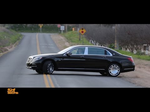 Mercedes-Maybach S600 / Testdrive and Interview with the Chief Engineer (German)