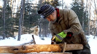 A Bigger Log Cabin? Off Grid, Building, Hand Tools, Woodworking, Wilderness Lifestyle