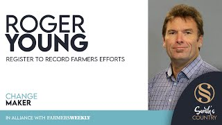"Roger Young | ""Register to record farmers efforts"""