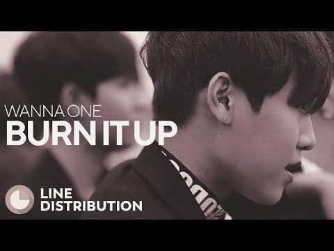 WANNA ONE - Burn It Up (Line Distribution)