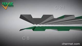 видео Профнастил для крыши: размер листа и цена