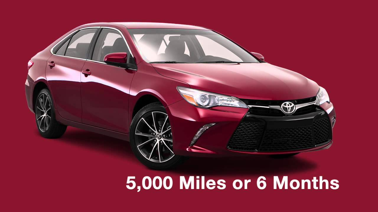 2016 Toyota Camry Maintenance Schedule In Houston