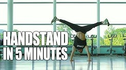 Learn How to Handstand in Only 5 Minutes | ASAP