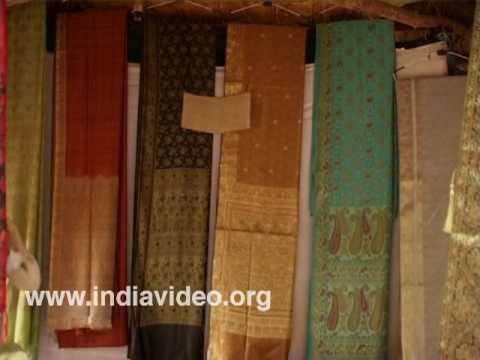 Handloom silks from Banaras, Uttar Pradesh