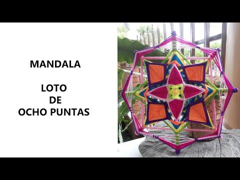 Mandala: Loto de Ocho Puntas