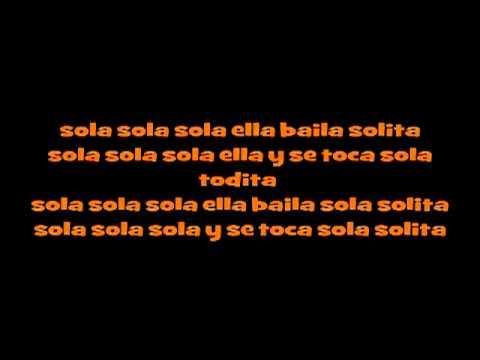 JHONNY D - ELLA BAILA SOLA LYRIC