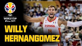 Willy Hernangomez - All BUCKETS & HIGHLIGHTS from the FIBA Basketball World Cup 2019