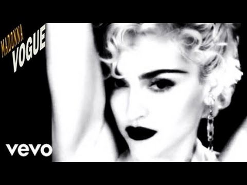 "MADONNA - ""Vogue"" [OFFICIAL MUSIC VIDEO CLIP HD]"