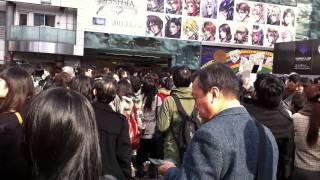 2011-03-11 - Earthquake in Shibuya
