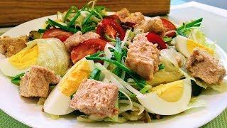 Салат с Печенью Трески / Эффектный и Вкусный