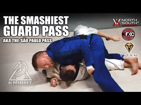 The Smashiest Jiu-Jitsu Guard Pass | The São Paulo Pass for Big Guys
