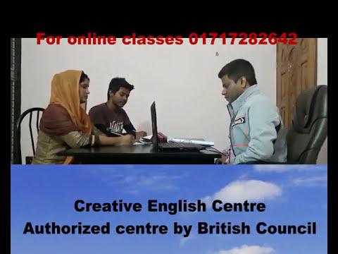 For online class, 01717 282642, 01779 100597,  (IELTS Life Skills A1)