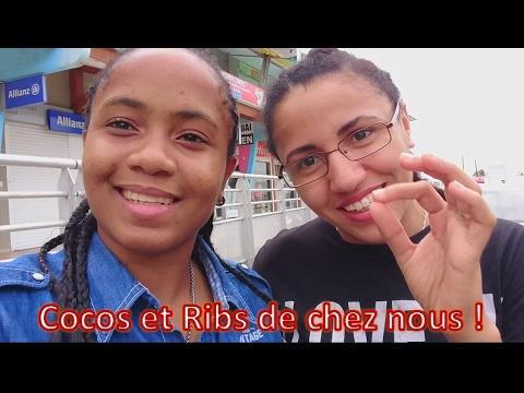 GUADELOUPE - We love FOOD : Petit déjeuner, ribs et coco ! (English subtitles)
