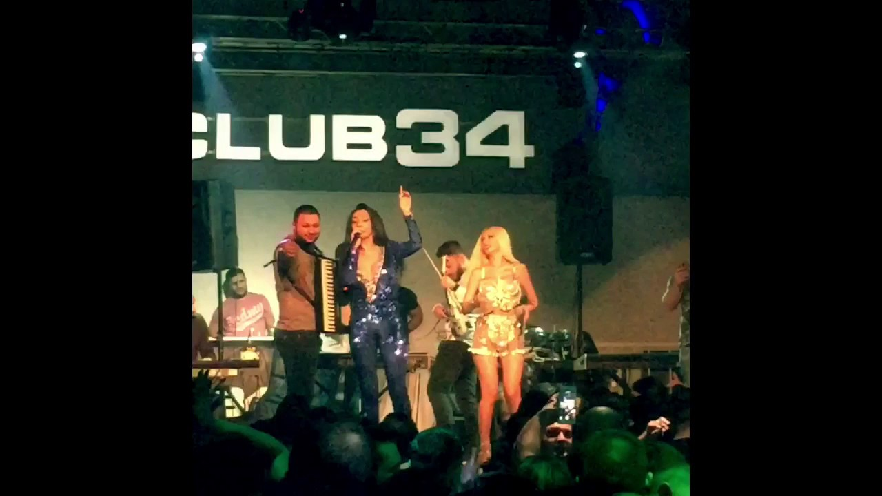 (HD) Live Performance (de performanță) Florin Salam, Narcisa, Cristina Pucean Club 34 Vienna