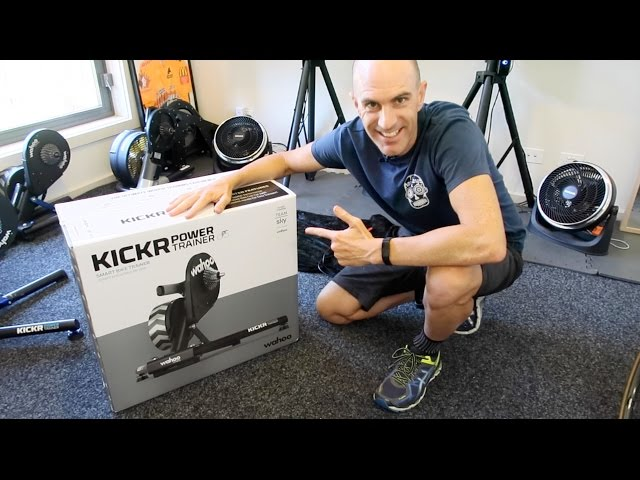 WAHOO KICKR16 Smart Trainer: Unboxing. Building. First Ride.
