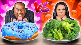 LOVE VS HATE FOOD CHALLENGE