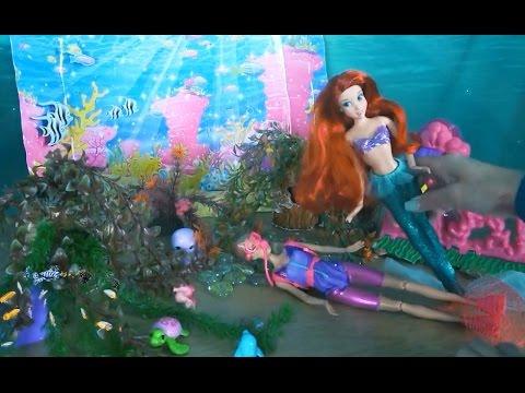Сериал с куклами Барби...