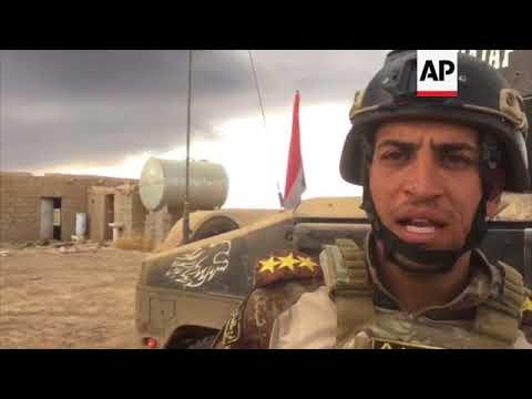 Iraqi special forces push towards Hawija